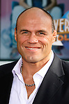 "UFC Fighter Randy Couture arrives at the American Premiere of ""The Mummy: Tomb Of The Dragon Emperor at the Gibson Amphitheatre on July 27, 2008 in Universal City, California."