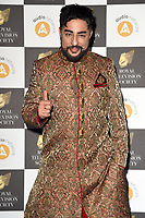 LONDON, UK. March 19, 2019: Bobby Friction arriving for the Royal Television Society Awards 2019 at the Grosvenor House Hotel, London.<br /> Picture: Steve Vas/Featureflash