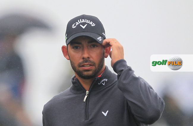 Pablo Larrazabal (ESP) on the 2nd tee during Round 4 of the HNA Open De France  at The Golf National on Saturday 2nd July 2017.<br /> Photo: Golffile / Thos Caffrey.<br /> <br /> All photo usage must carry mandatory copyright credit       (&copy; Golffile | Thos Caffrey)