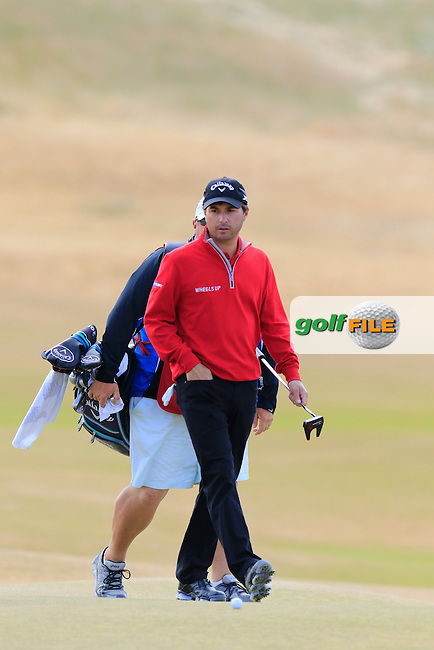 Kevin Kisner (USA) on the 5th green during Friday's Round 2 of the 2015 U.S. Open 115th National Championship held at Chambers Bay, Seattle, Washington, USA. 6/19/2015.<br /> Picture: Golffile | Eoin Clarke<br /> <br /> <br /> <br /> <br /> All photo usage must carry mandatory copyright credit (&copy; Golffile | Eoin Clarke)