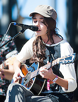 Monica Heldal performs at the 2014 Voodoo Music Experience in New Orleans, LA.