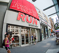 A Run by Foot Locker store in New York is seen on Monday, May 28, 2012  (© Richard B. Levine)