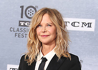 "11 April 2019 - Hollywood, California - Meg Ryan. 2019 10th Annual TCM Classic Film Festival - The 30th Anniversary Screening of ""When Harry Met Sally"" Opening Night  held at TCL Chinese Theatre. Photo Credit: Faye Sadou/AdMedia"