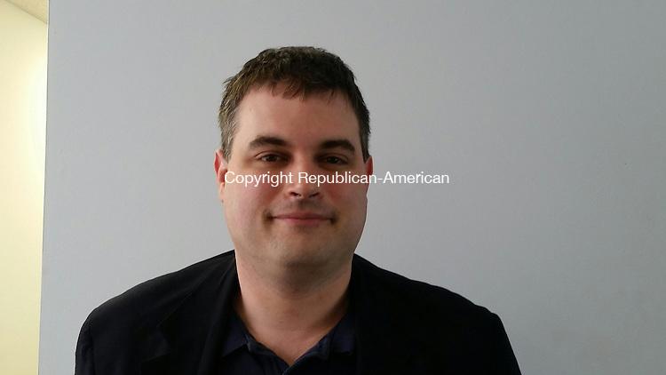 WOODBURY, CT:08 July 2015:070815BB01: WOODBURY ---- Sean Murphy, 38, will run for first selection in November's municipal election. Bill Bittar Republican-American