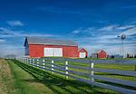 Red Barn & Windmill, Greene County