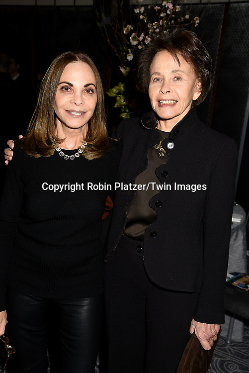 Ellen Delsener and Marilyn Berger attend The New Jewish Home Gala Honoring 8 Over 80 on March 12, 2018 at the Ziegfeld Ballroom in New York, New York, USA.<br /> <br /> photo by Robin Platzer/Twin Images<br />  <br /> phone number 212-935-0770