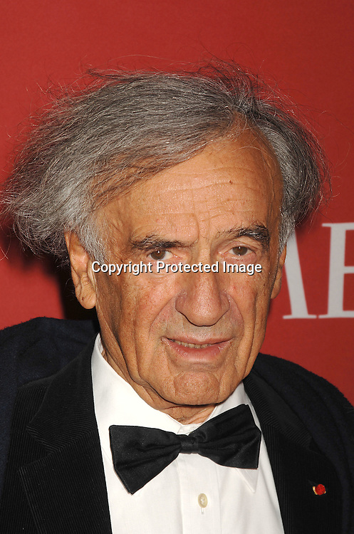 Elie Wiesel..arriving at The Time's 100 Most Influential People in the world on May 8, 2007 at Jazz at Lincoln Center atThe Time Warner Center in New York City. ..Robin Platzer, Twin Images......212-935-0770