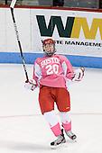 Isabel Menard (BU - 20) - The Boston University Terriers defeated the visiting Northeastern University Huskies 3-2 on Saturday, January 28, 2012, at Agganis Arena in Boston, Massachusetts.