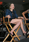 """HOLLYWOOD, CA. - September 16: Amanda Seyfried answers questions at """"Jennifer's Body"""" Hot Topic Fan Event at Hot Topic on September 16, 2009 in Hollywood, California."""