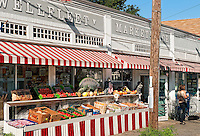 Food market, Wellfleet, Cape Cod, MA, USA