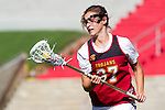 Los Angeles, CA 04/22/16 - Jacky Hennegan (USC #37) in action during the NCAA Stanford-USC Division 1 women lacrosse game at the Los Angeles Memorial Coliseum.  USC defeated Stanford 10-9/