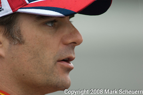 13 June 2008: Jeff Gordon at the LifeLock 400 at Michigan International Speedway, Brooklyn, Michigan, USA.