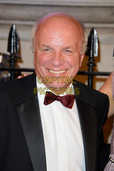 Greg Dyke<br /> The BFI Luminous Gala, London, England.<br /> 8th October 2013<br /> headshot portrait black white tuxedo bow tie red<br /> CAP/CJ<br /> &copy;Chris Joseph/Capital Pictures