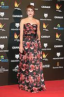 Aura Garrido attends the Feroz Cinema Awards 2015 at Las Ventas, Madrid,  Spain. January 25, 2015.(ALTERPHOTOS/)Carlos Dafonte) /NortePhoto<br /> <br /> nortePhoto.com