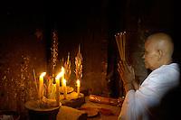 Women Priest in Temple
