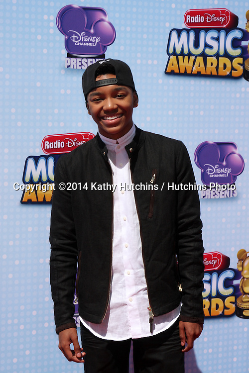 LOS ANGELES - APR 26:  Josh Levi at the 2014 Radio Disney Music Awards at Nokia Theater on April 26, 2014 in Los Angeles, CA