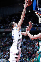 Real Madrid's Nikola Mirotic during Euroleague 2012/2013 match.January 11,2013. (ALTERPHOTOS/Acero) NortePHOTO