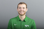 DENTON, TX - JUNE 13: Mean Green Football marketing and head shot photos at Apogee Stadium in Denton on June 13, 2018 in Denton, Texas.