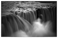 A powerful northern Icelandic waterfall.