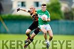 Kieran Donaghy Austin Stacks in action against Chris Davies Legion in the Kerry Senior Football Championship on Friday Night.