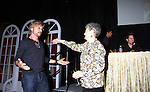 The Young & The Restless star Stephen Nichols hugs fan Marian who came for her 75th birthday at the Soap Opera Festivals - Meet & Greet wine tasting event on March 24, 2012 at Bally's Atlantic City, Atlantic City, New Jersey.  (Photo by Sue Coflin/Max Photos)