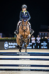 Oi Man Leung of Hong Kong riding Bamako MAurea competes in the HKJC Junior Trophy during the Longines Masters of Hong Kong at AsiaWorld-Expo on 11 February 2018, in Hong Kong, Hong Kong. Photo by Ian Walton / Power Sport Images