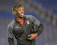 Freddie Ladapo of Rotherham United during Portsmouth vs Rotherham United, Sky Bet EFL League 1 Football at Fratton Park on 26th November 2019