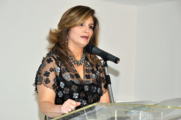 Circe Almanzar, vicepresidenta de la AIRD.Ciudad: Santo Domingo.Fotos:  Carmen Suárez/acento.com.do.Fecha: 03/06/2011.