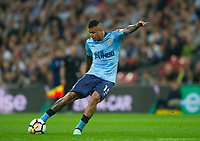 Newcastle's Kenedy during the EPL - Premier League match between Tottenham Hotspur and Newcastle United at Wembley Stadium, London, England on 9 May 2018. Photo by Andrew Aleksiejczuk / PRiME Media Images.