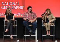 "NORTH HOLLYWOOD - MAY 20: (L-R) Executive Producers Kelly Souders, Brian Peterson, and Lynda Obst attends an FYC event for National Geographic's ""The Hot Zone"" at the Television Academy on May 20, 2019 in North Hollywood, California. (Photo by Frank Micelotta/National Geographic/PictureGroup)"