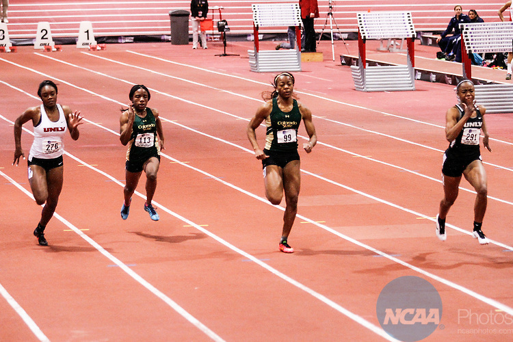 28 FEB 2015: The Mountain West Indoor Track and Field Championship held at the Albuquerque Convention Center in Albuquerque, NM. Juan Labreche/NCAA Photos