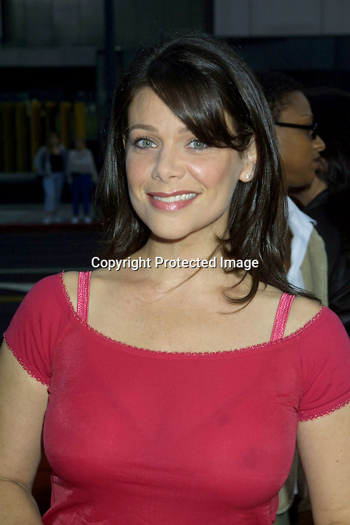 "©KATHY HUTCHINS/HUTCHINS PHOTO.""SERVING SARA"" PREMIERE.8/20/02.THE ACADEMY OF MOTION PICTURES ARTS AND SCIENCES.THEATER.BEVERLY HILLS, CA..MEREDITH SALENGER"