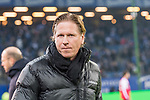 20.01.2018, Volksparkstadion, Hamburg, GER, 1.FBL, Hamburger SV vs 1. FC Koeln<br /> <br /> im Bild<br /> Markus Gisdol (Trainer Hamburger SV), <br /> <br /> Foto &copy; nordphoto / Ewert