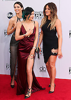 LOS ANGELES, CA, USA - NOVEMBER 23: Kendall Jenner, Khloe Kardashian, Kylie Jenner arrive at the 2014 American Music Awards held at Nokia Theatre L.A. Live on November 23, 2014 in Los Angeles, California, United States. (Photo by Xavier Collin/Celebrity Monitor)