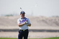 Richard McEvoy (ENG) on the 9th during Round 3 of the Oman Open 2020 at the Al Mouj Golf Club, Muscat, Oman . 29/02/2020<br /> Picture: Golffile   Thos Caffrey<br /> <br /> <br /> All photo usage must carry mandatory copyright credit (© Golffile   Thos Caffrey)