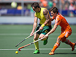 Hockey World Cup 2014<br /> The Hague, Netherlands <br /> Day 14 Men Final Australia v Netherlands<br /> kieran Govers <br /> <br /> Photo: Grant Treeby<br /> www.treebyimages.com.au