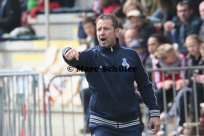 Trainer Sven Kahlert (MSV)  - 1. FFC Frankfurt vs. MSV Duisburg