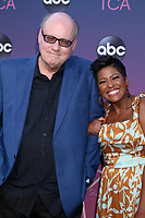 LOS ANGELES - AUG 15:  Bill Geddie, Tamron Hall at the ABC Summer TCA All-Star Party at the SOHO House on August 15, 2019 in West Hollywood, CA