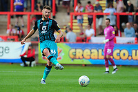 Brandon Cooper of Swansea City in action during the pre season friendly match between Exeter City and Swansea City at St James Park in Exeter, England, UK. Saturday, 20 July 2019