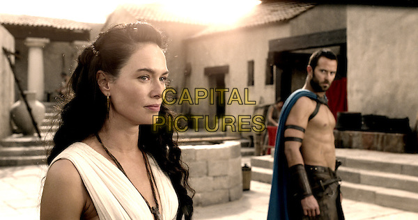 Lena Headey, Sullivan Stapleton<br /> in 300: Rise of an Empire (2014) <br /> *Filmstill - Editorial Use Only*<br /> CAP/NFS<br /> Image supplied by Capital Pictures