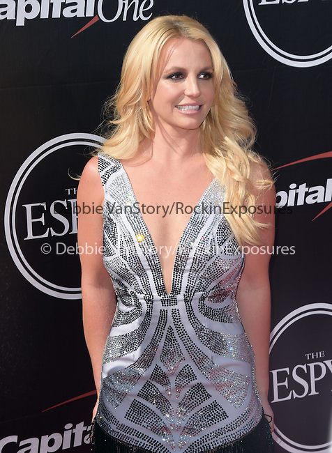 Britney Spears attends The 2015 ESPY Awards held at The Microsoft Theatre  in Los Angeles, California on July 15,2015                                                                               © 2015 Hollywood Press Agency