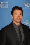 "Actors Hugh Jackman is honored with wife as David Lynch Foundation presents ""Change Begins Within"" - a benefit and gala celebrating service of veterans and first responders in New York City hosted by David Lynch and Jerry Seinfeld on December 3, 2013 at the Conrad NYC, New York. (Photo by Sue Coflin/Max Photos)"