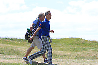 Jimmy Nesbitt (AM) on the 3rd fairway during the Pro-Am of the Irish Open at LaHinch Golf Club, LaHinch, Co. Clare on Wednesday 3rd July 2019.<br /> Picture:  Thos Caffrey / Golffile<br /> <br /> All photos usage must carry mandatory copyright credit (© Golffile | Thos Caffrey)