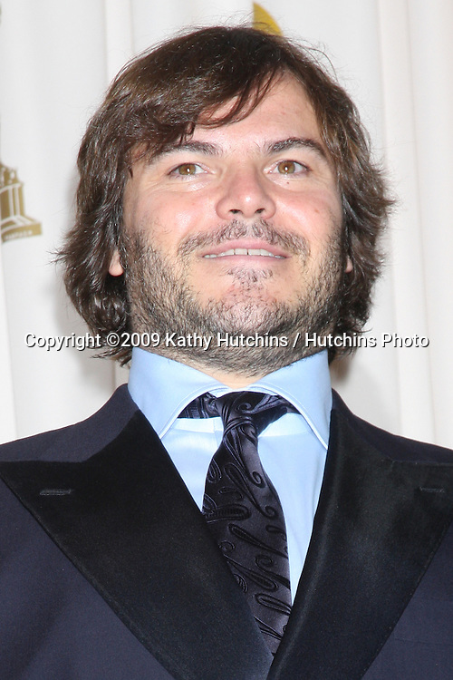 Jack Black  in the 81st Academy Awards Press Room at the Kodak Theater in Los Angeles, CA  on.February 22, 2009.©2009 Kathy Hutchins / Hutchins Photo...                .