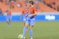 Houston, TX - Saturday July 30, 2016: Rebecca Moros during a regular season National Women's Soccer League (NWSL) match between the Houston Dash and the Western New York Flash at BBVA Compass Stadium.