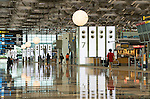 Singapore Changi Airport 02 - Landside departure hall, Changi Airport Terminal 3, Singapore