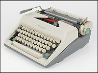 BNPS.co.uk (01202 558833)<br /> Pic: RRAuction/BNPS<br /> <br /> Mario Puzo&rsquo;s 1965 Olympia SM9 manual typewriter.<br /> <br /> The secrets behind the production of cinema's greatest Mafia film have been revealed after the unsealing of The Godfather creator's personal vault. <br /> <br /> A never-before-seen archive of scripts, screenplays and storyboards relating to the epic 1972 movie belonged to the late Mario Puzo, who wrote the Godfather as a novel three years earlier.<br /> <br /> The documents contain Puzo's own annotations scrawled on early screenplay drafts for legendary director Francis Ford Coppola to consider, giving a glimpse into birth of some of cinema's most iconic lines and scenes. They are now being sold at auction for &pound;300,000.
