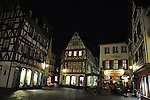 Kirschgarten in Mainz bei Nacht