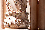 Detail of a column at the Bussaco Palace Hotel in Portugal.