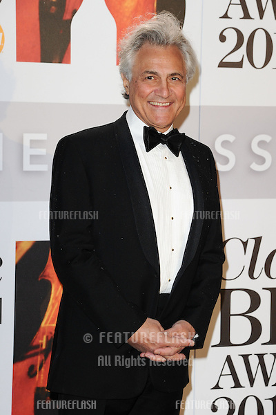 John Suchet arriving for the Classic Brit Awards 2012 at the Royal Albert Hall, London. 02/10/2012 Picture by: Steve Vas / Featureflash